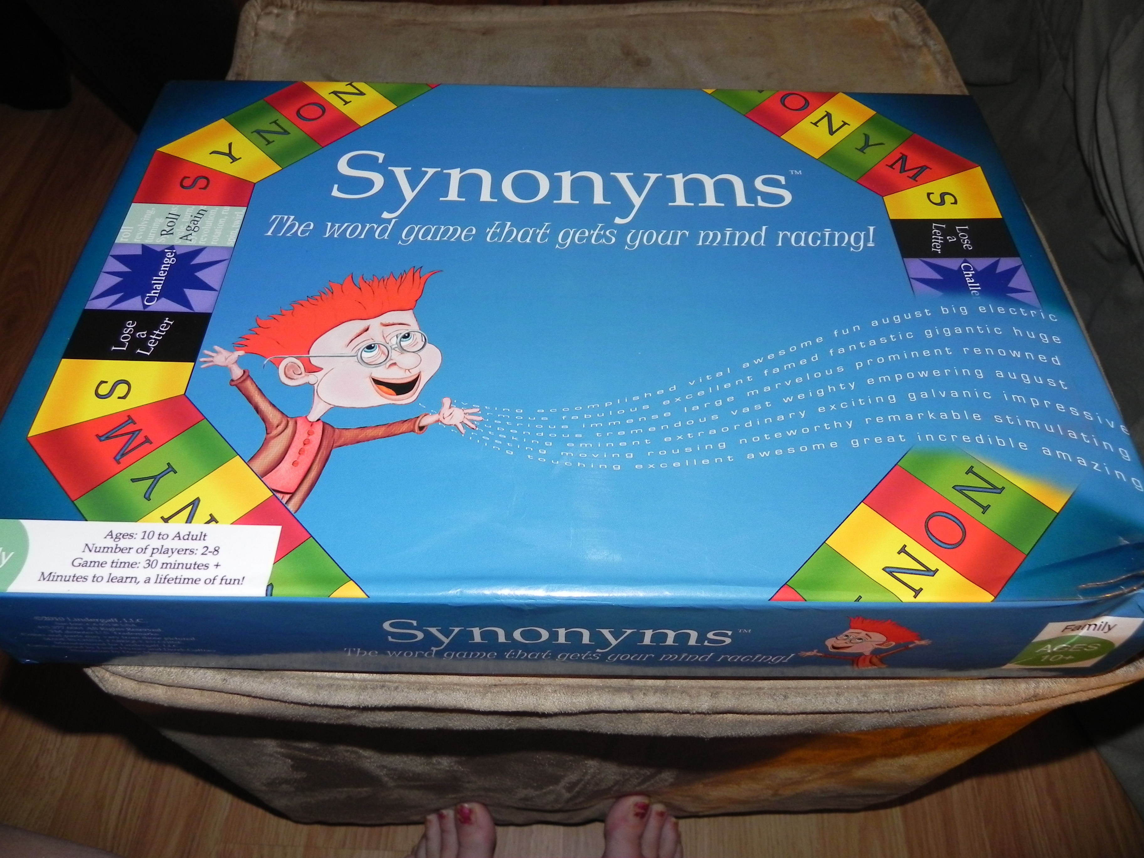 Synonyms Board Game Review