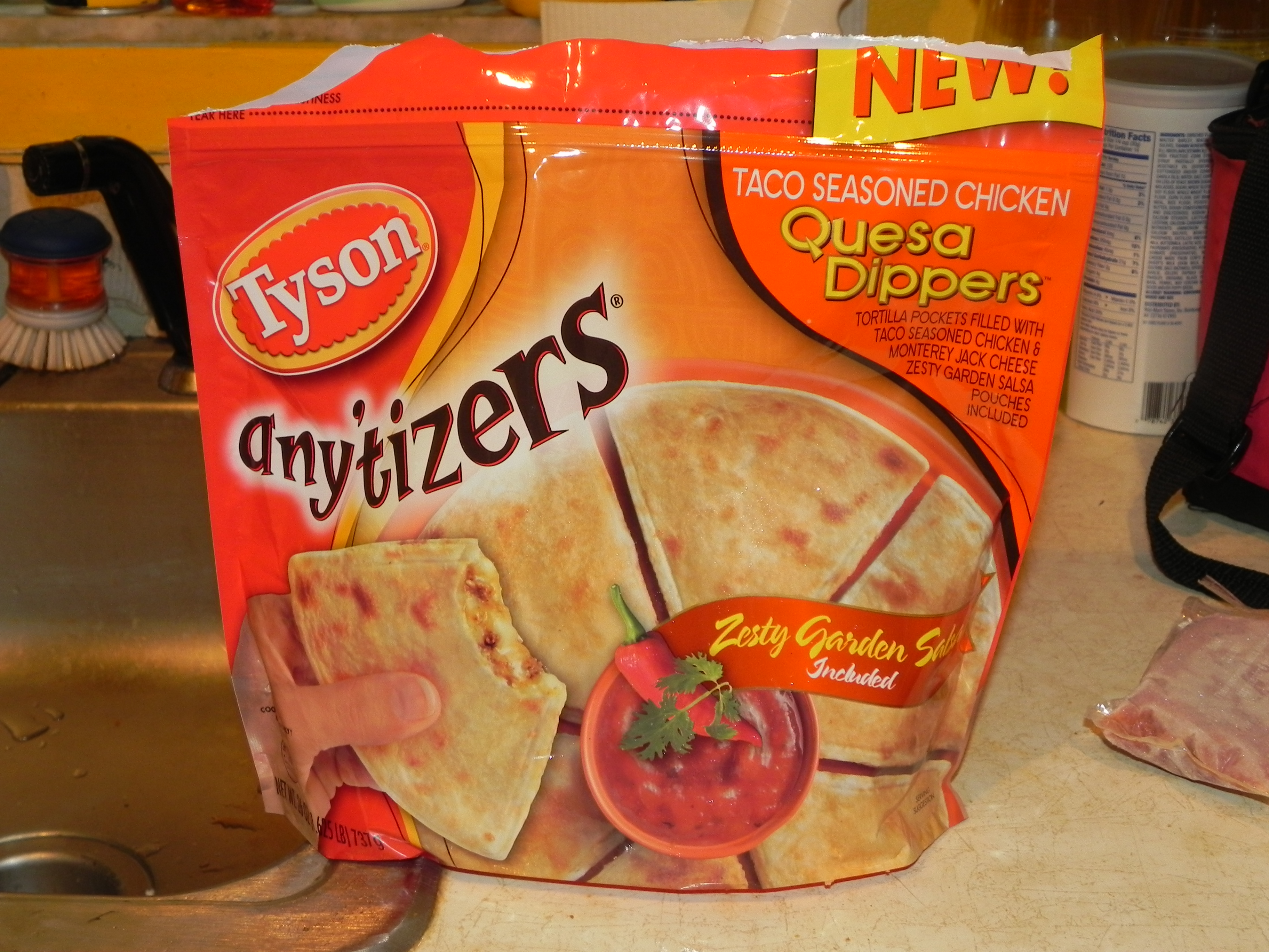 Tyson Any'tizers Quesa Dippers Winner
