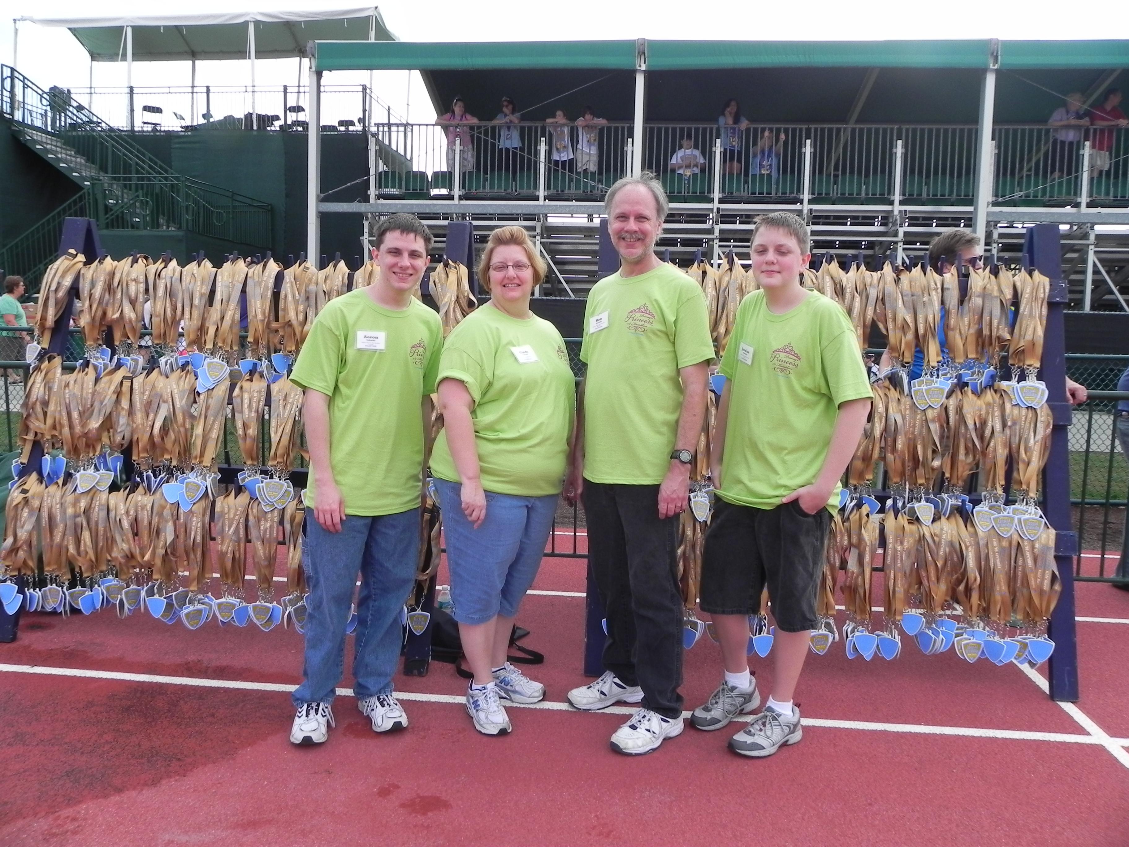 Volunteering at Disney Sporting Events