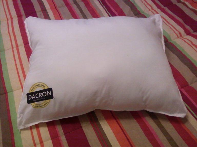 Dacron Mini Pillow Review Amp Giveaway The Mom Maven