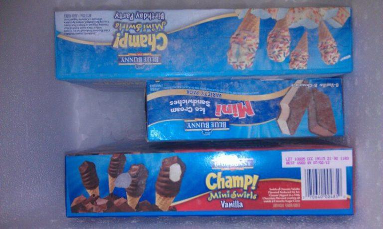 Walmart Blue Bunny Chocolate Ice Cream