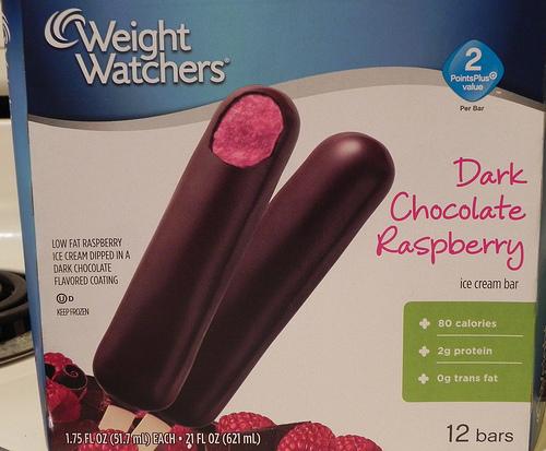 Dark Chocolate Dulce de Leche Ice Cream Bars PointsPlus value 3