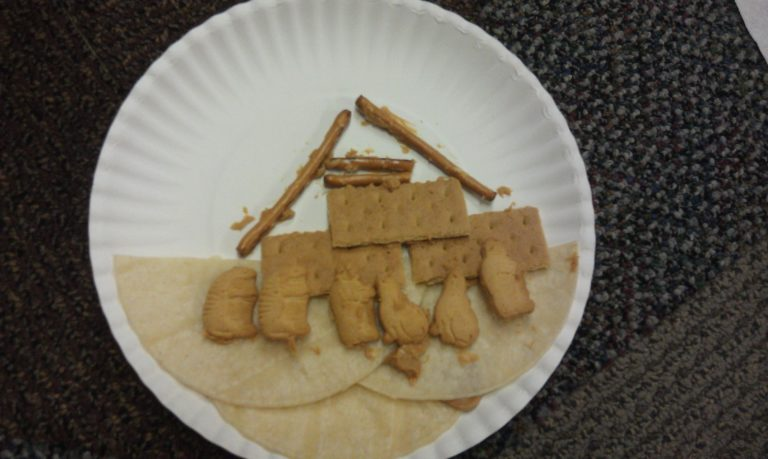 Edible Noah's Ark Craft