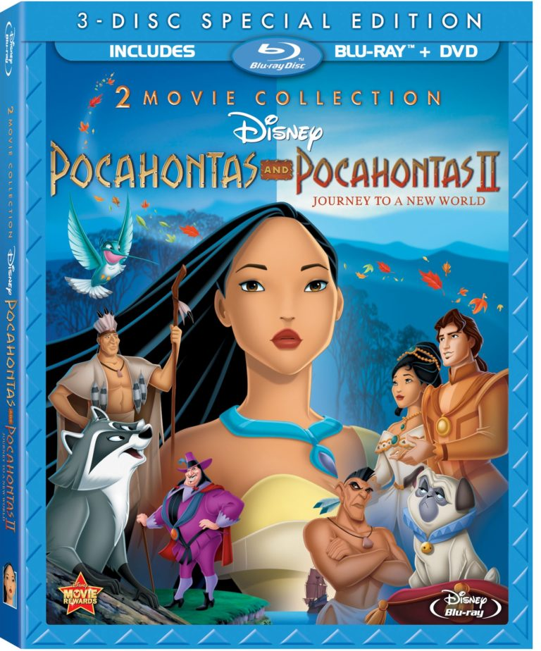 Pocahontas Two-Movie Collection On Blu-ray 8-21-12
