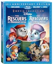 Rescuers2Movie35thAnniversaryBluray sm