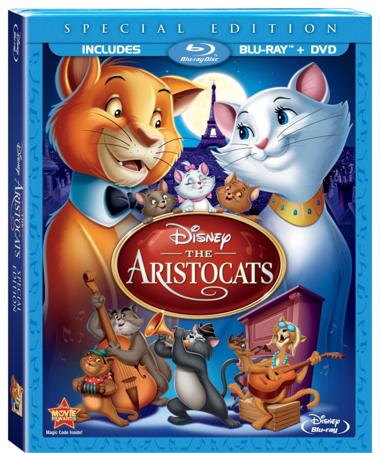 The Aristocats on Disney Blu-ray Today! - The Mom Maven