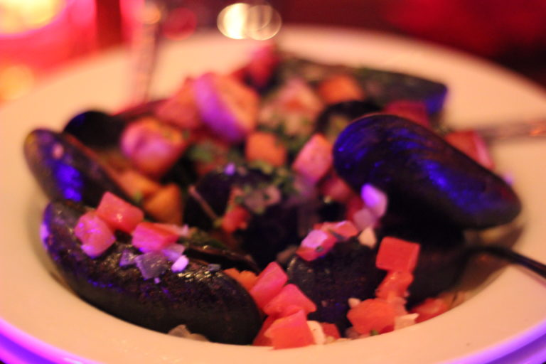 Mussels from Be Our Guest Restaurant