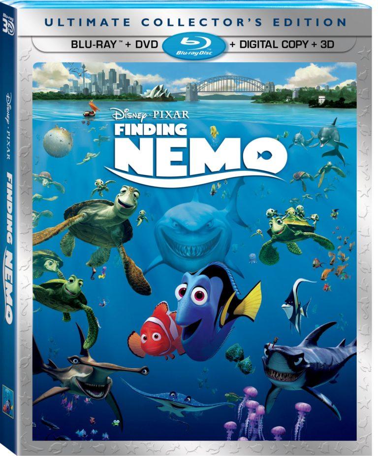 FindingNemo3DFiveDisc