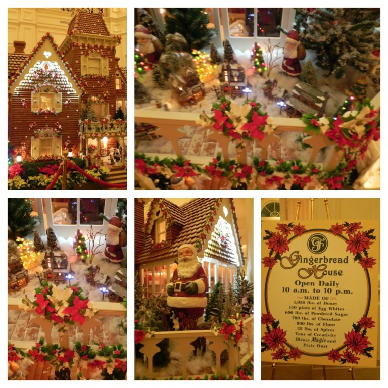 Mouse house memories christmas at the grand floridian for Christmas decorations for inside your house