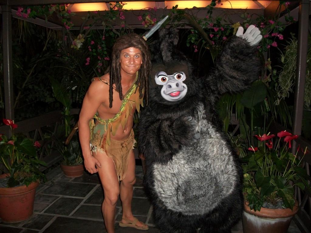 Tarzan and Terk