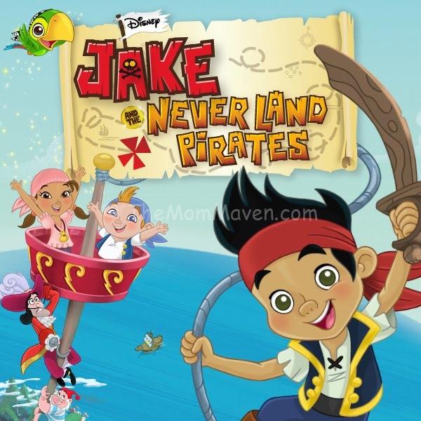 Jake Neverland Pirates Cake Topper