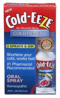 Cold-EEZE spray