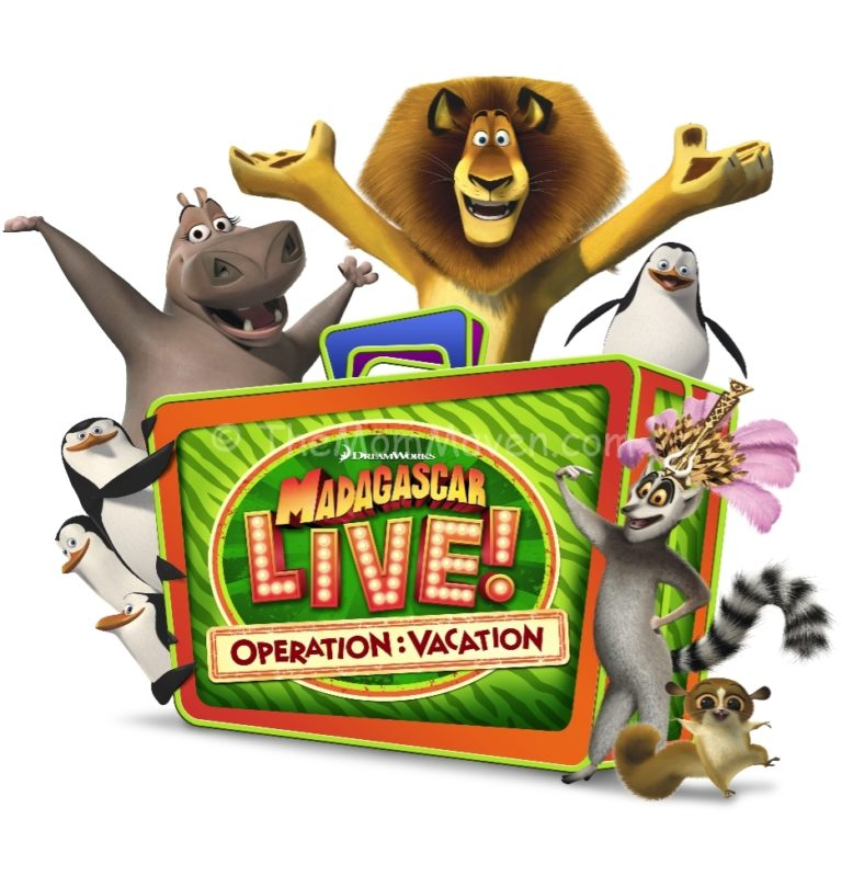 Madagascar Live! Operation: Vacation comes to Busch ...