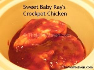 Easy Recipes-Sweet Baby Ray's Crockpot Chicken
