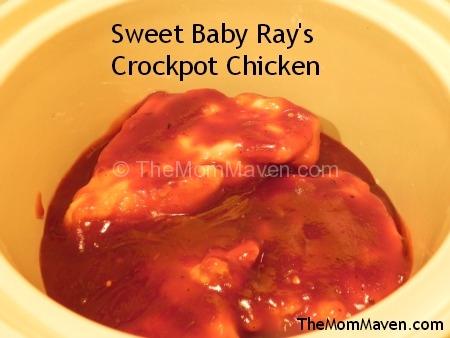 Easy Recipes Sweet Baby Ray S Crockpot Chicken The Mom Maven