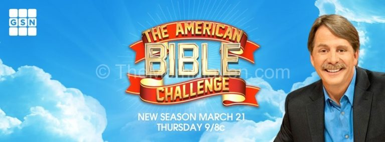 The American Bible Challenge banner