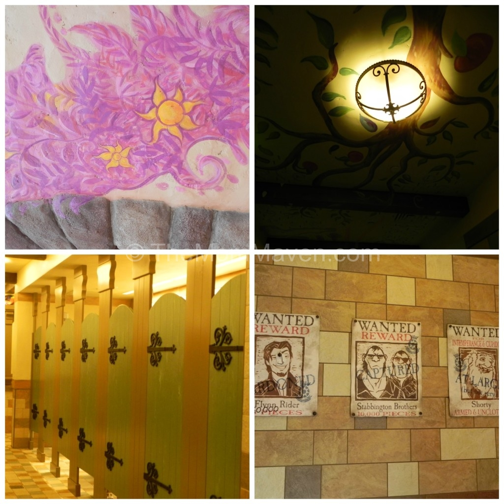 Gorgeous Tangled Themed Guest Rooms At Tokyo Disneyland: Mouse House Memories-Tangled Rest Area