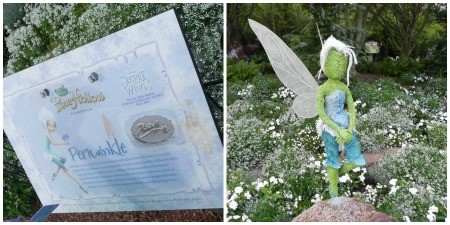 Introducing Periwinkle at the 2012 Epcot Flower & Garden Festival