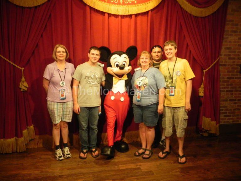 L-R Kim, Aaron, Mickey, Cindy (me), Verlin and Jordan