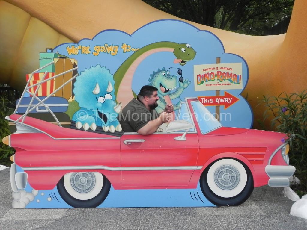 John from www.bigfatpanda.com is on his way to the Dino-rama!
