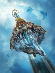 Family Travel: Falcon's Fury Drops In at Busch Gardens Tampa in 2014