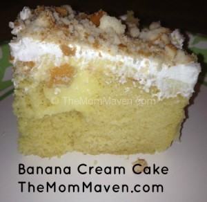 Easy Recipes: Banana Cream Cake