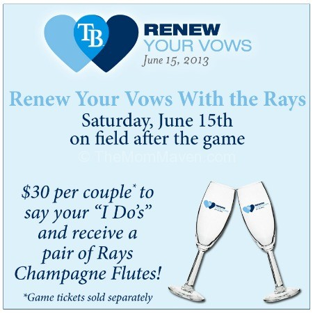 Renew Your Vows with the Rays