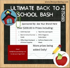 The Ultimate Back to School Bash is Coming!