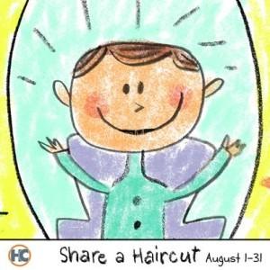 share a hair cut