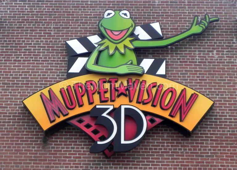 Muppet*Vision 3D sign