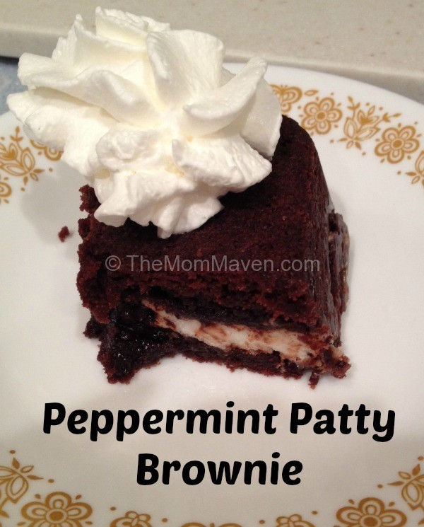 peppermint patty brownie