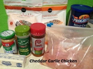 Cheddar Garlic Chicken