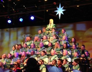 Mouse House Memories-Candlelight Processional at Epcot