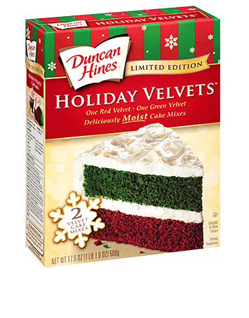 Holiday Cake Mix Cookies