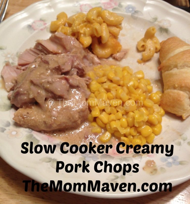 slow cooker creamy pork chops