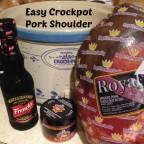 Easy Crockpot Pork Shoulder