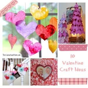 10 Valentine Crafts TheMomMaven.com