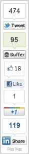DiggDigg social sharing buttons