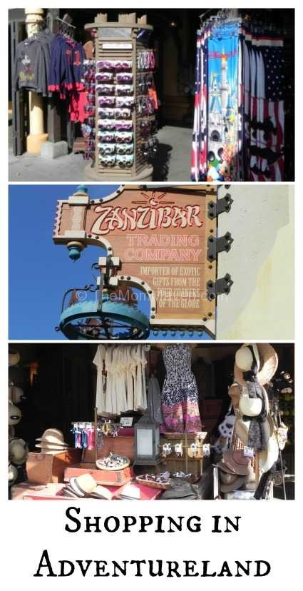 Shopping in Adventureland at Walt Disney World's Magic Kingdom