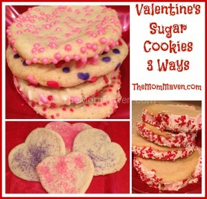 Easy recipes-Valentines Sugar Cookies