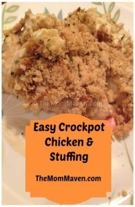 Easy recipes-Crockpot Chicken & Stuffing