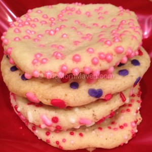 easy recipes-sprinkled sugar cookies
