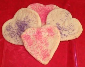 Easy recipes-sugared sugar cookie cut-outs