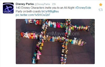 Disney's epic tweet screenshot