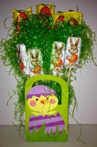 Hershey's Easter gift bag craft
