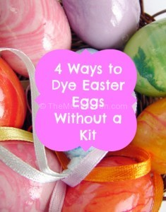 4 ways to dye beautiful Easter eggs without a kit