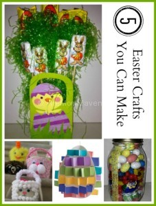 5 Easter Crafts you can make
