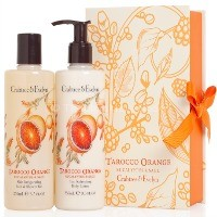 Crabtree and Evelyn Tarocco Orange Body Wash and Lotion Mother's day gift guide