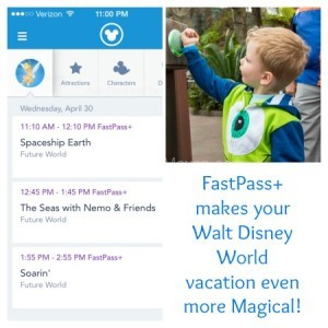 Fastpass+ Walt Disney World