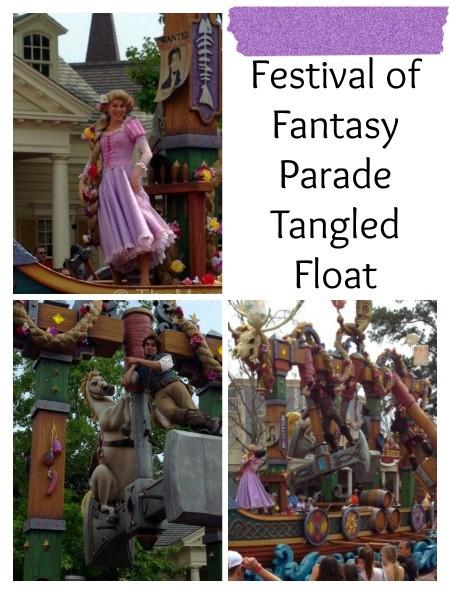 Festival of Fantasy-Tangled Float